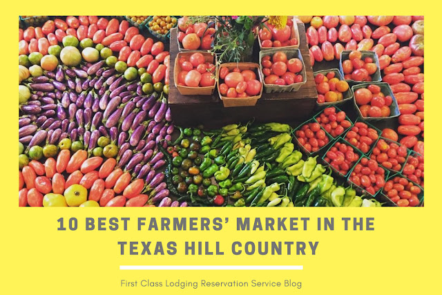 10 best farmers markets in Texas Hill Country blog cover image