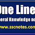 50 Basic GK One liner for Competitive Exams
