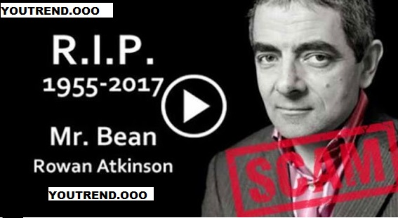 Fake news claiming 'Rowan Atkinson has died' stories are FAKE news – and could give your PC an infection