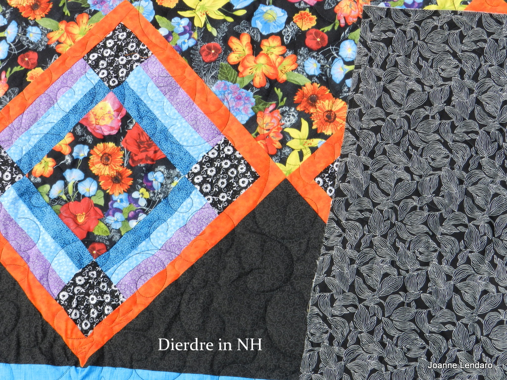 Unique Dorothy tells me she us still working on busting through her scraps What a great job she ud doing This quilt is fabulous