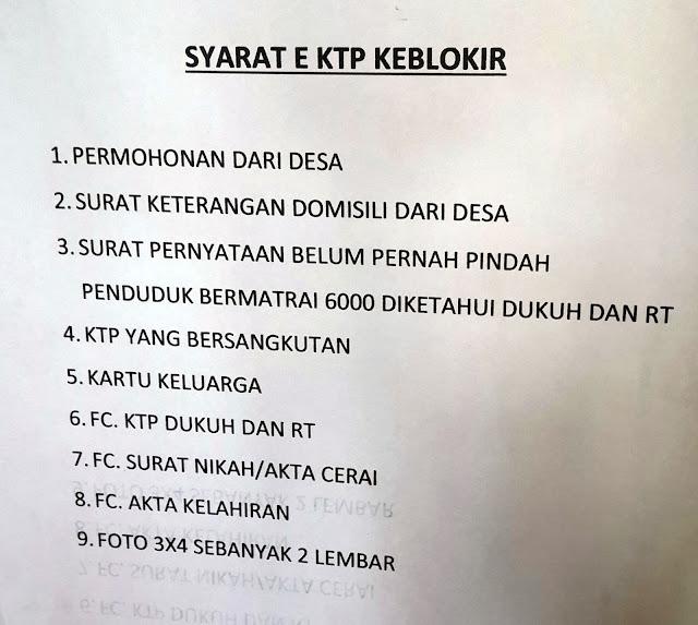 Penyebab dan Syarat e-KTP Kena Blokir (Kulon Progo, Yogyakarta)