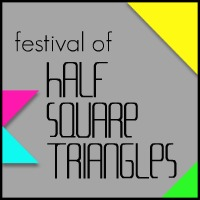 Half-Square Triangle Pot Holders Tutorial - In Color Order