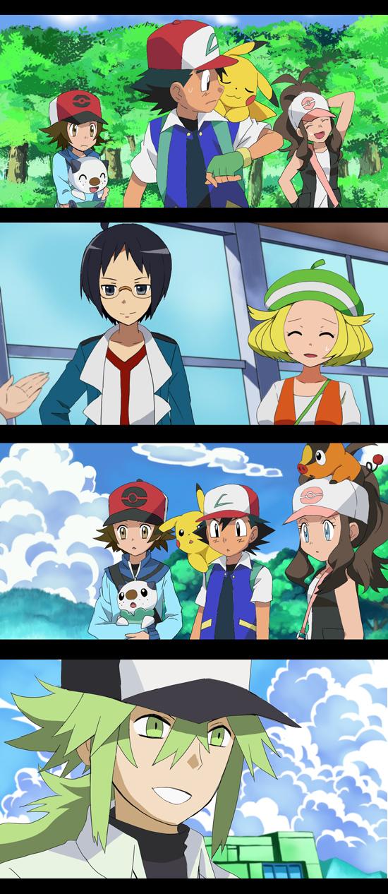 Pokemon Hilbert X N Images | Pokemon Images