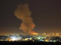 Penjajah Israel Biadab Kembali Bombardir Wilayah Gaza, Palestina