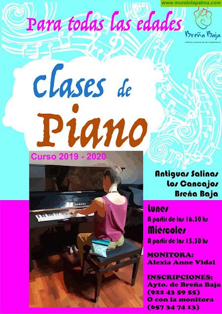 BREÑA BAJA: Clases de Piano