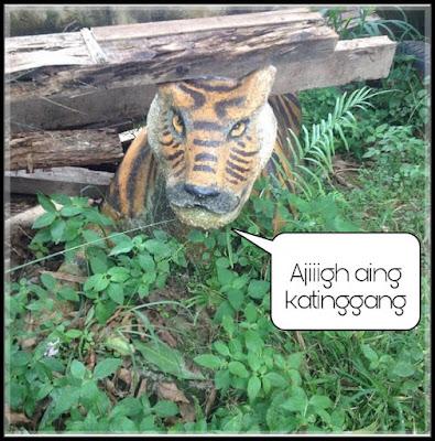 10 Patung Macan 'Gagal Serem' Ini Justru Malah Bikin Ngakak
