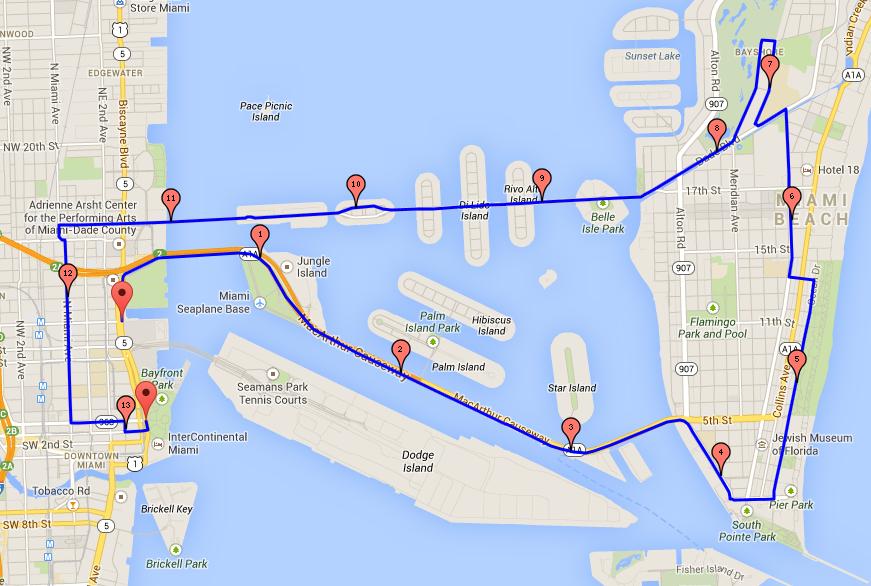 thomas' blog: miami half marathon race preview