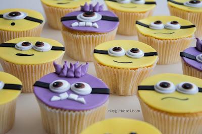 edirne minnions cupcake