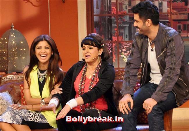 Dishkiyaaoon Promotion on the Sets of Comedy Night with Kapil, Shilpa Shetty Promotes Dishkiyaaoon Promotion on Comedy Night with Kapil