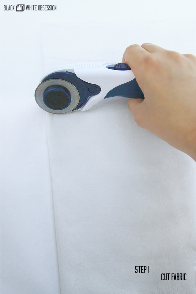 Black and White Obsession: Freezer Paper | Handmade Cloth