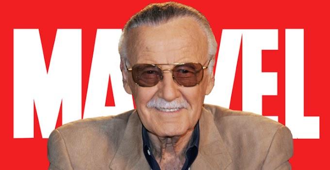 Stan Lee a lenda dos quadrinhos.