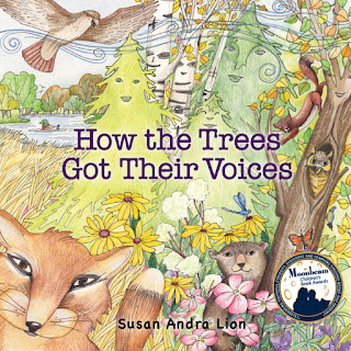 Childrens picture book about connecting with nature