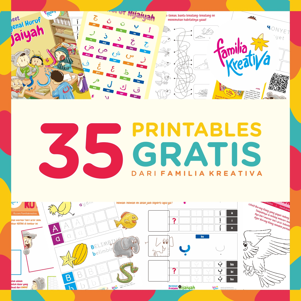 photograph relating to Printable Photos named 35 Printables GRATIS dari Familia Kreativa