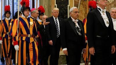Trump visits
