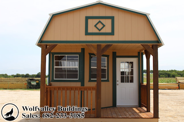 Deluxe Lofted Cabin 12x28 Hunting Cabin Vacation Cabin Tiny Home Portable  Building Free Delivery And Installation!