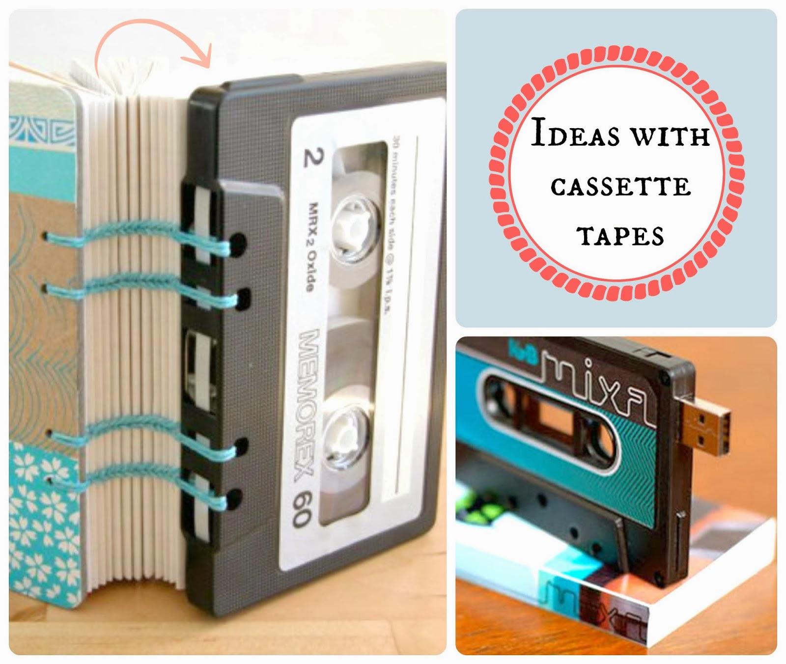 pomysł z kasety magnetofonowej