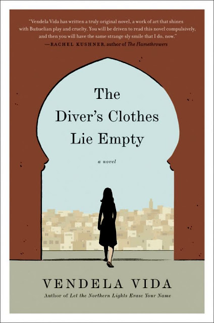 Vendels Vida's book The Diver's Clothes Lie Empty