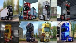 Scania RJL BZR Skin Pack