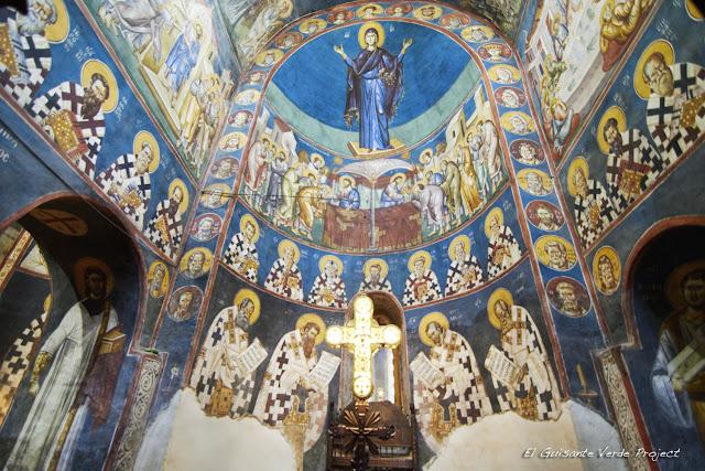 Frescos de la Iglesia Santa Madre de Dios Peribleptos, Ohrid - Macedonia por El Guisante Verde Project