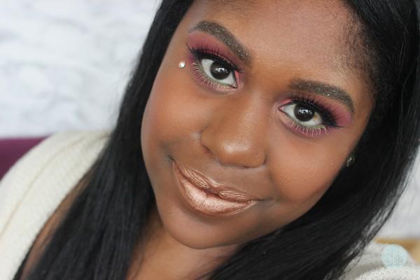 picture of Coachella makeup