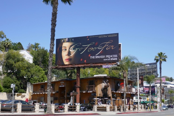 Spanish Princess series billboard