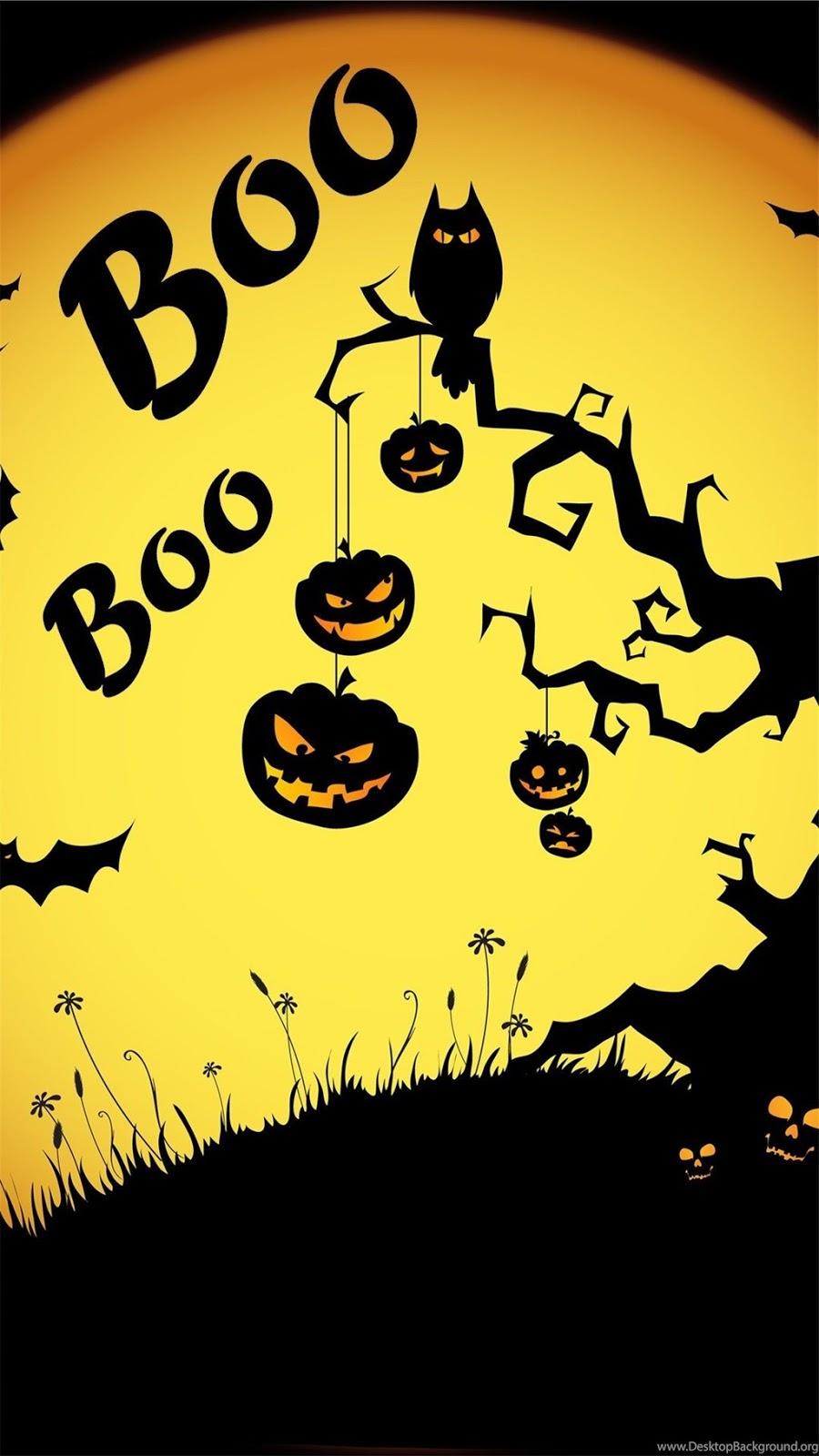 Halloween Hd Wallpaper For Iphone 6 Plus 5 5c Ipad 2 Happy