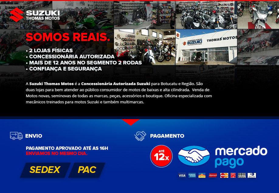 Suzuki Thomas Motos Peças Acessórios - Envio e Pagamento