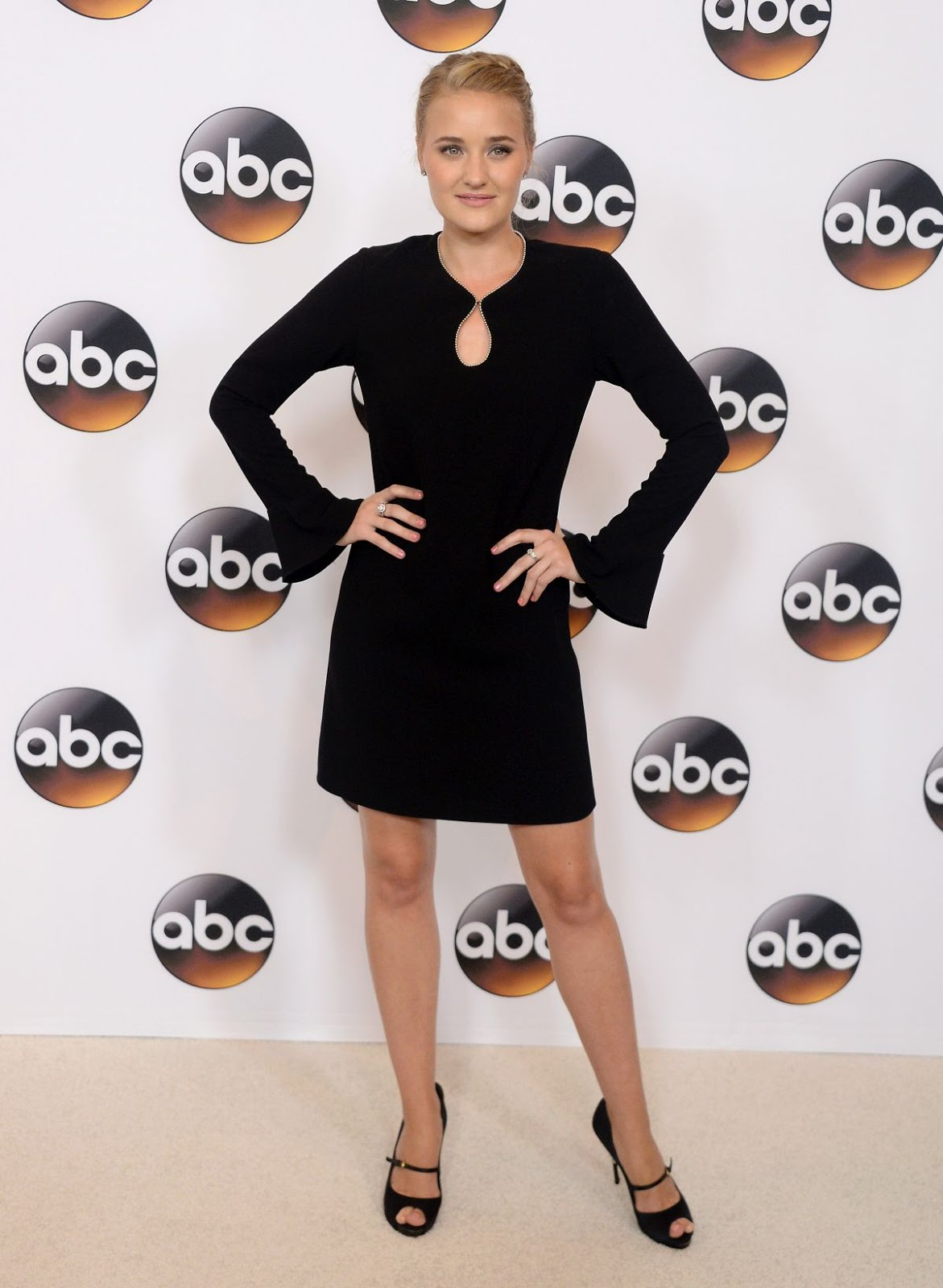 Amanda Aj Michalka at Disney ABC Television TCA Summer Press Tour in Beverly Hills