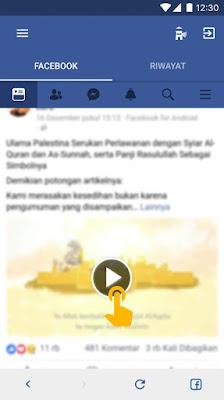 download video facebook di iphone