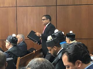 Senador Galán respondió en el Tribunal punto por punto acusaciones del Ministerio Público