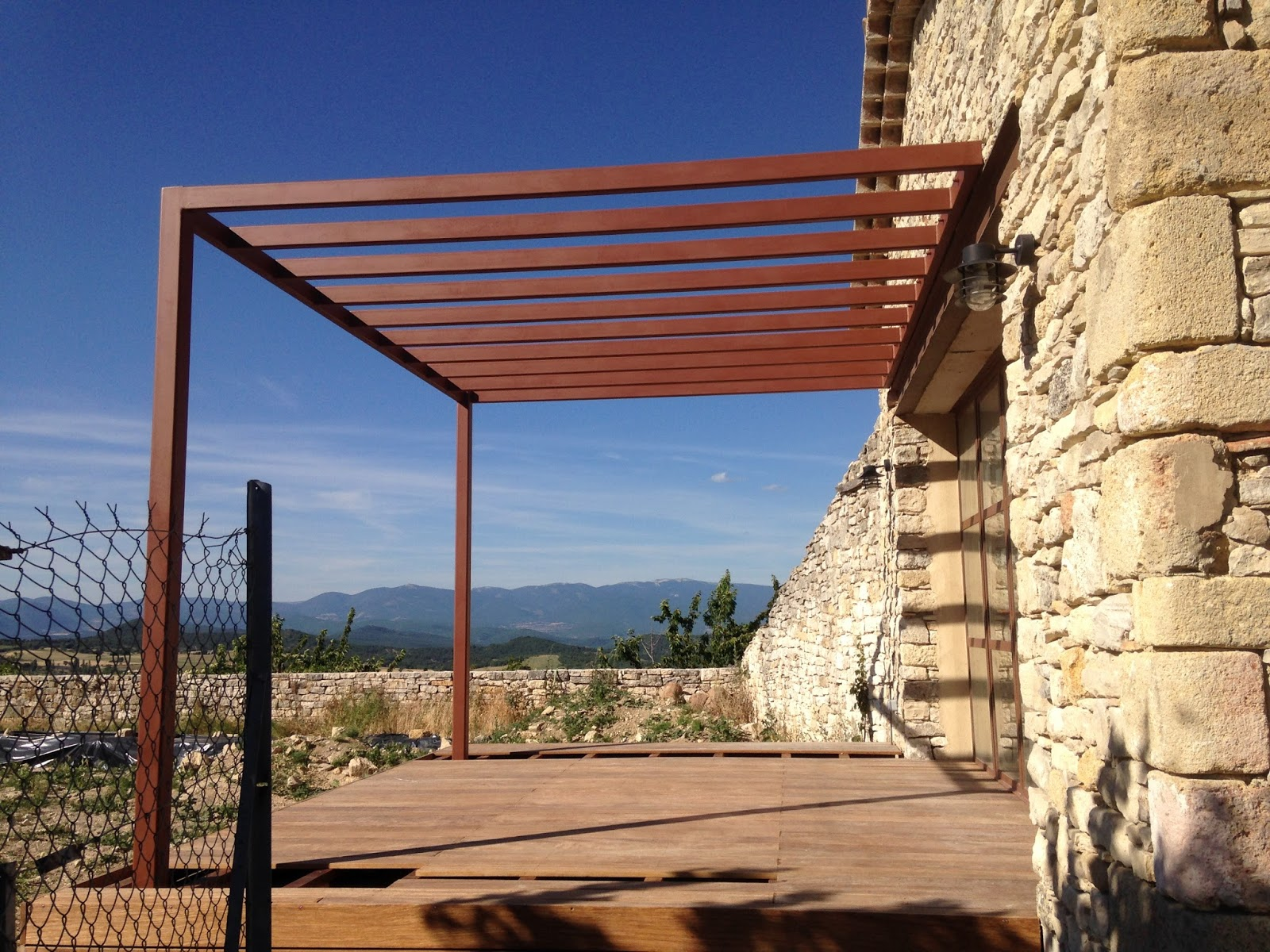 L\' ART DE FER. CREATION: Pergola Contemporaine