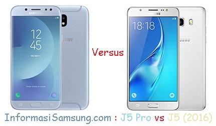 Harga dan Spesifikasi Samsung J5 Pro vs J5 (2016)