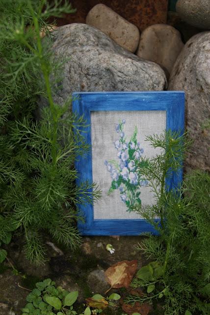 вышивка цветочная, вышивка крестиком, ландыши, цветы, подарок, вышитые цветы, канва, мулине, вышиваем ландыши