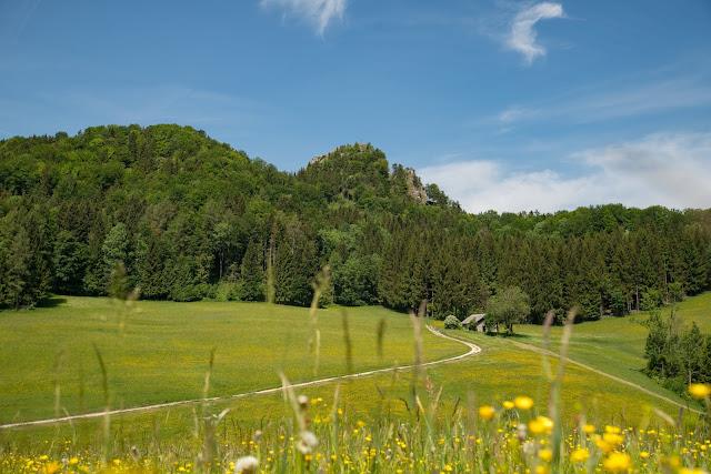 Gaisberg und Nockstein von Koppl  Wanderung FuschlseeRegion  Wandern Salzkammergut 13