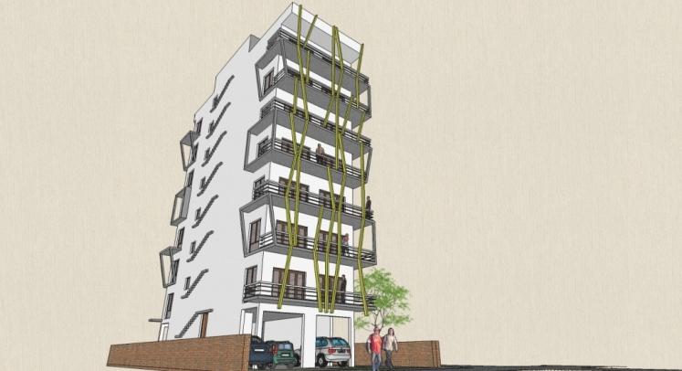 Home plans in india apartment building design ab 3003 for Apartment design standards india