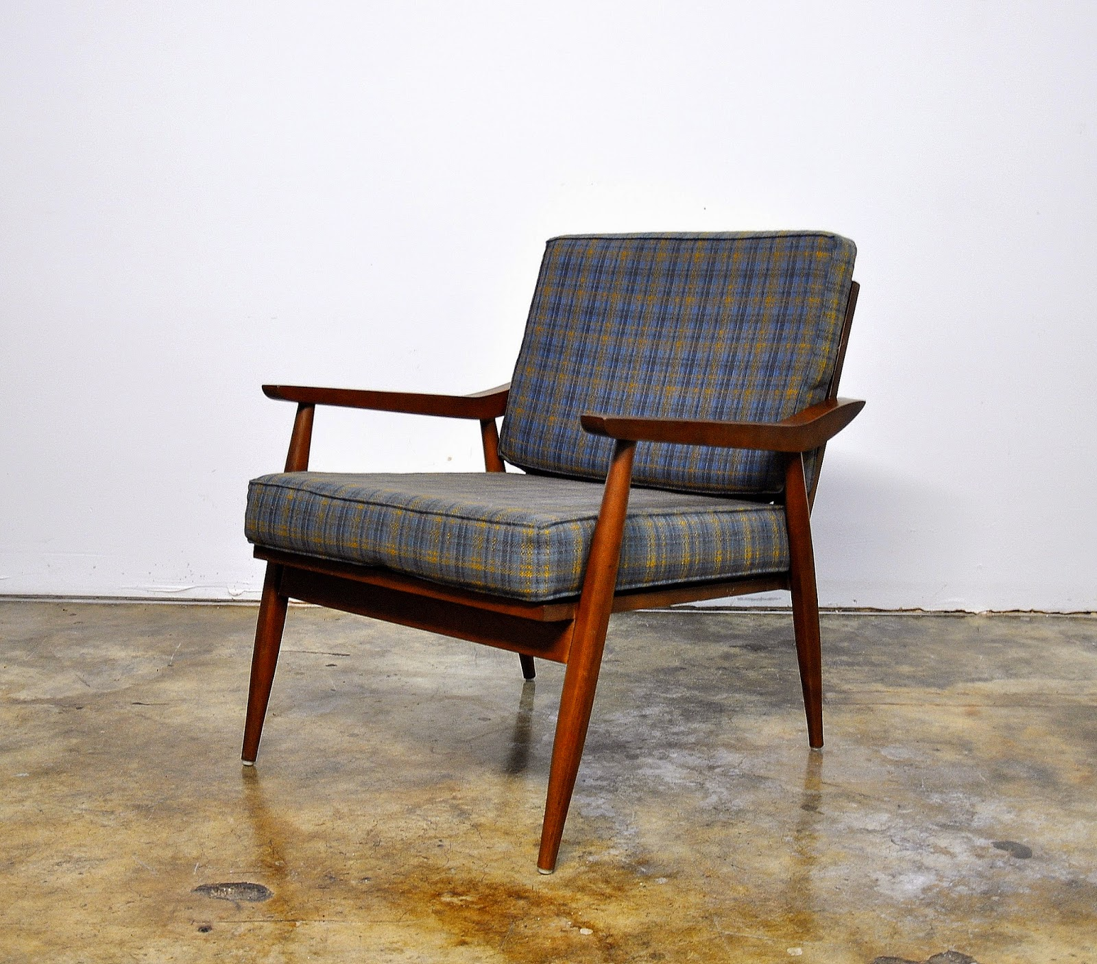 Mid Century Chair: SELECT MODERN: Danish Modern Lounge Or Easy Chair