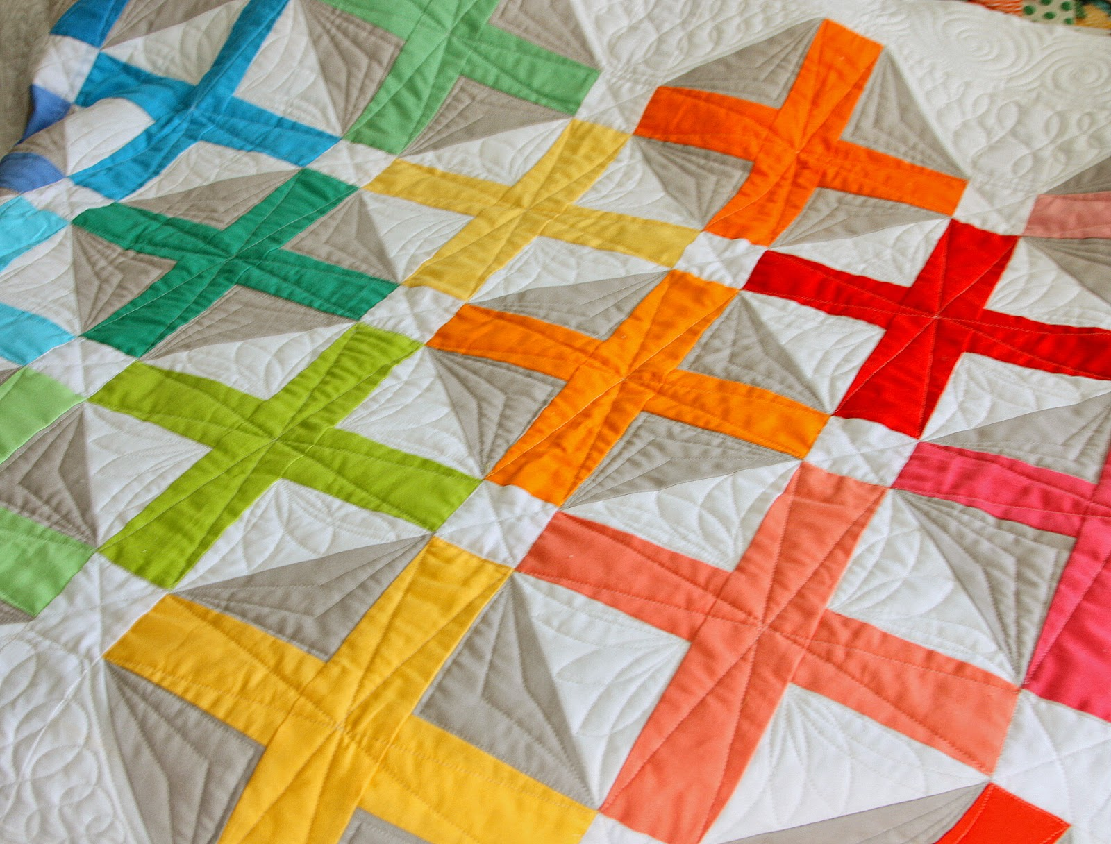 New Quilt Pattern for Sale - Hopscotch - Diary of a Quilter - a ... : hopscotch quilt pattern - Adamdwight.com