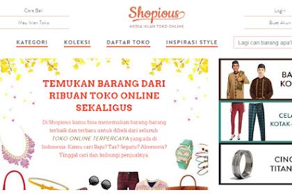 Shopious.com Tempat Belanja Fashion Sekaligus Media Iklan Toko Online