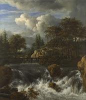 Jacob van Ruisdael - Cascada con paisaje - ca. 1660-1670