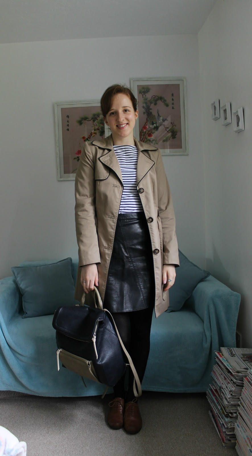 Everything But The Kitchen Sink: OOTD: Classic Stripes and ...