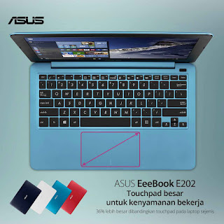 ASUS EeeBook E202 With Asus Smart Gesture - Citro Mduro