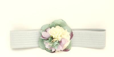 PV 2017 - Coleccion Verde Lila 5 Cinturon elastico flor