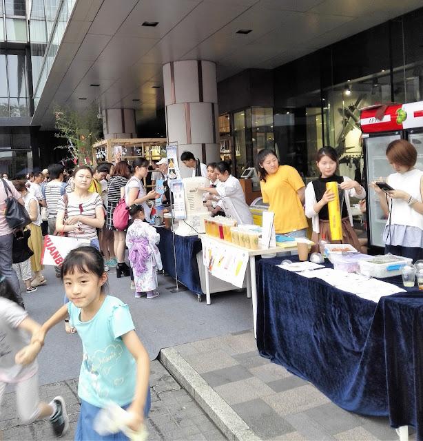 上海高島屋―夏日祭 '18の狭い場所2