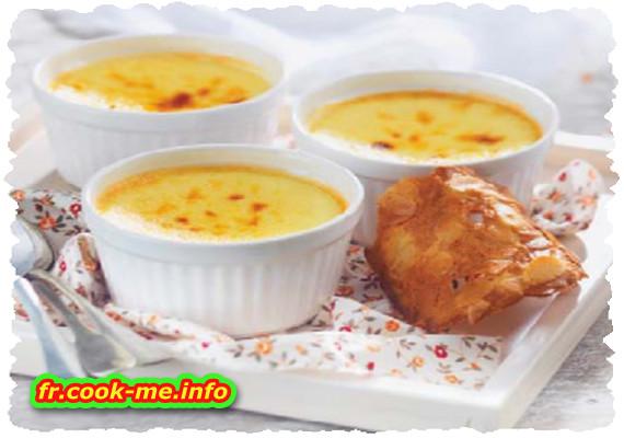 Crème caramel au fromage