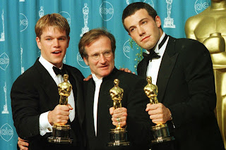 good will hunting-matt damon-robin willims-ben affleck-oscar academy award
