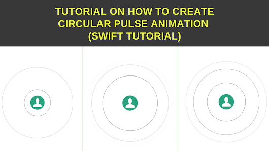 Create circular pulse animaion in swift