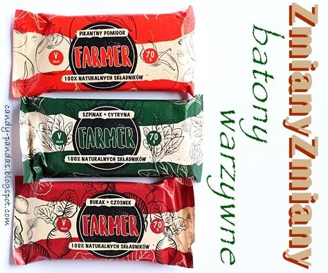 """Warzywne batony """"Farmer"""": pomidor, szpinak, burak – Zmiany Zmiany"""