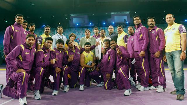 Telugu Titans Team 2016