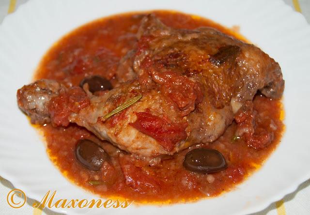 Курица, тушенная по-охотничьи, от Джейми Оливера. Итальянская кухня