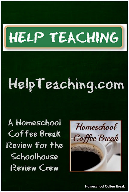 Worksheets and Tests from HelpTeaching.com (A Homeschool Coffee Break review for the Schoolhouse Review Crew) - HelpTeaching.com is a website that offers tests and worksheets, lesson materials, and educational games for all grade levels; and in all subject areas. Read our full review at kympossibleblog.blogspot.com